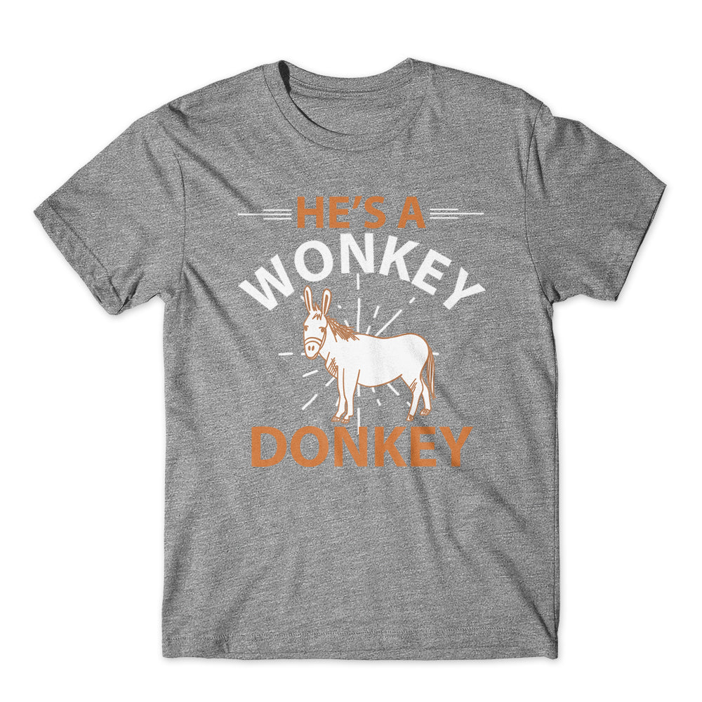He's a Wonky Donkey T-Shirt 100% Cotton Premium Tee