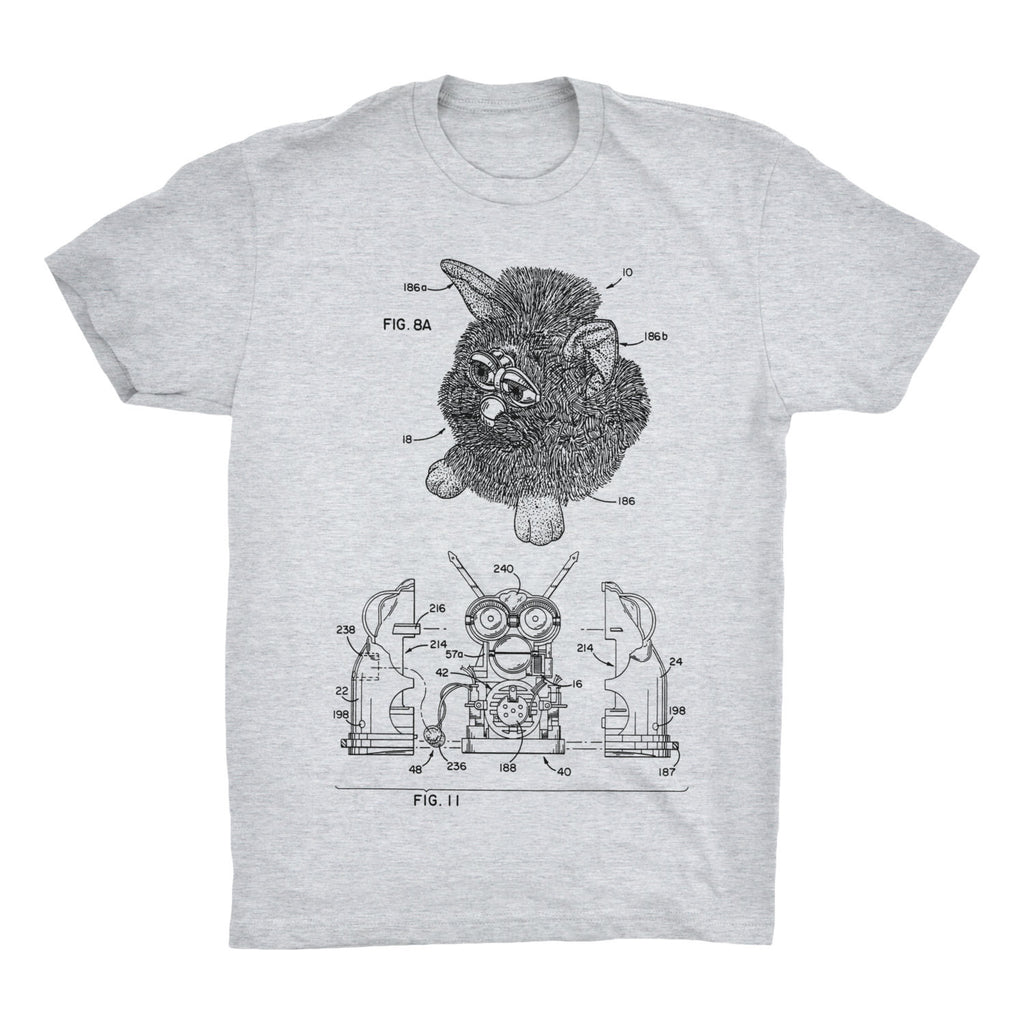 Furby Patent T-Shirt - Mighty Circus