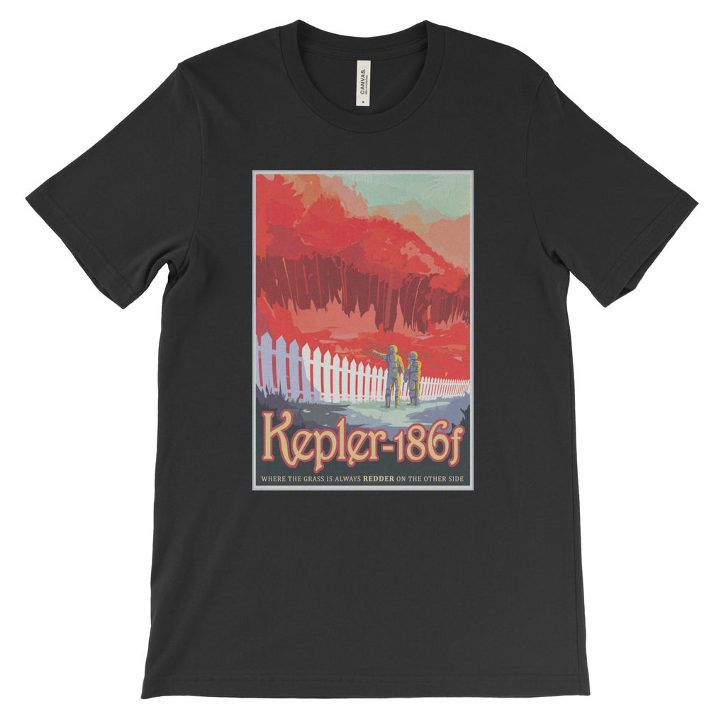 Kepler-186f T-Shirt from NASA's Visions of the Future - Mighty Circus