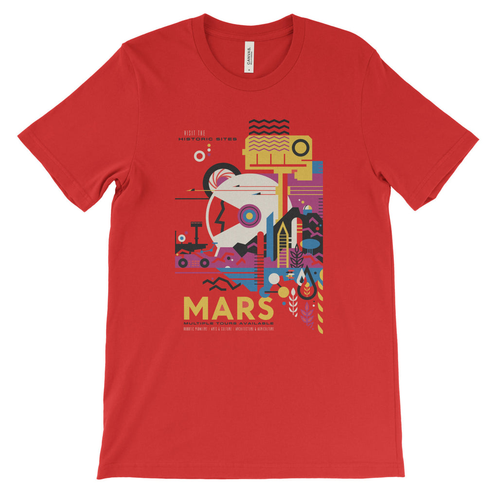 Mars T-Shirt from NASA's Visions of the Future - Mighty Circus