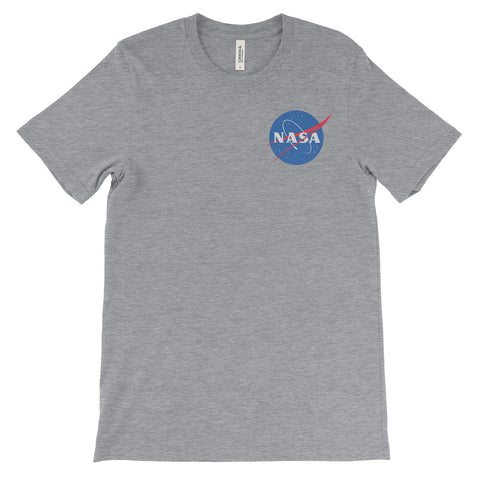NASA Meatball Logo (left) T-Shirt - Mighty Circus