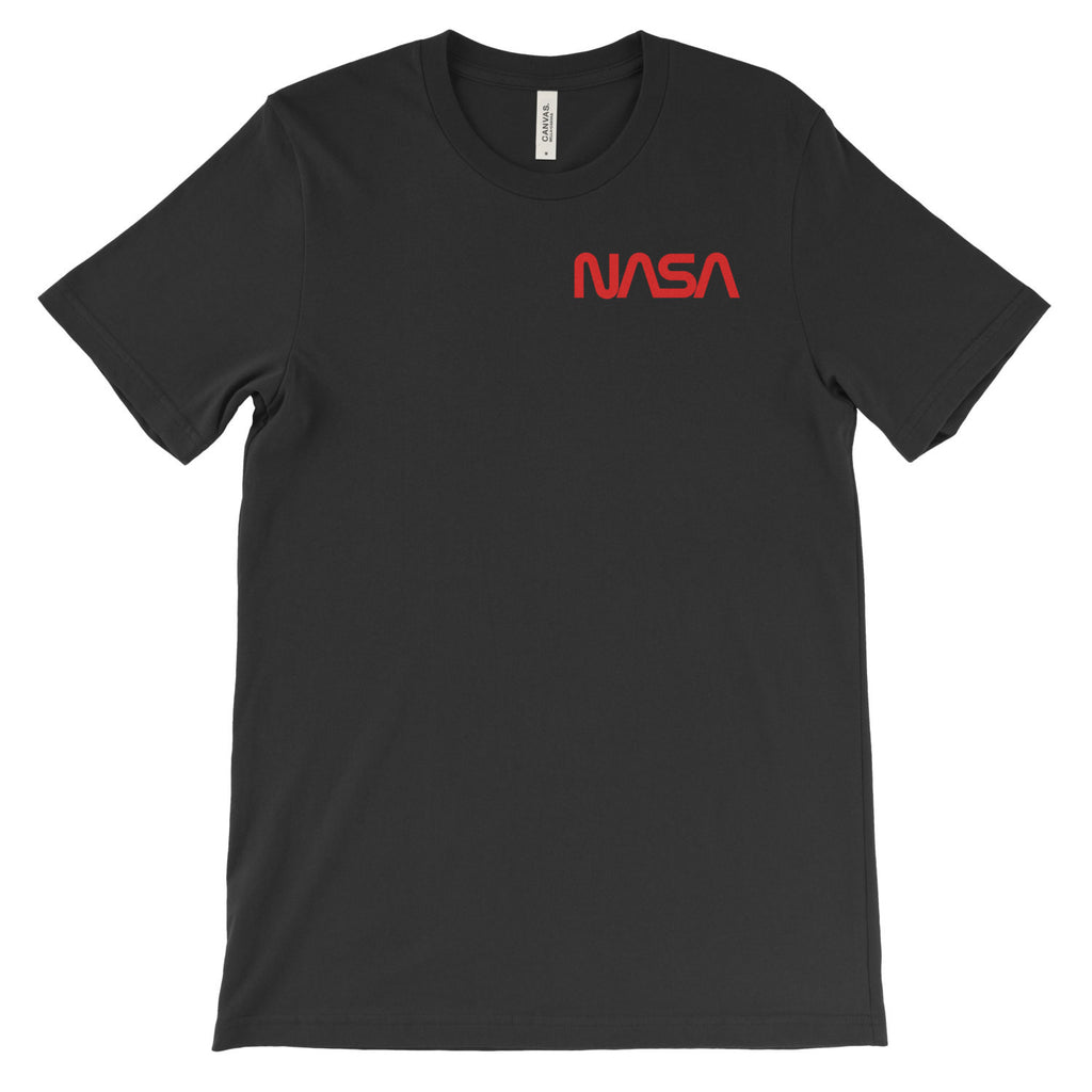 NASA Worm Logo (left) T-Shirt - Mighty Circus