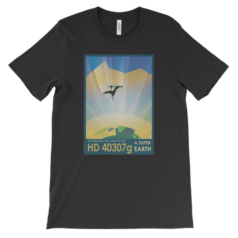 HD 40307g Poster Print T-Shirt from NASA - Mighty Circus