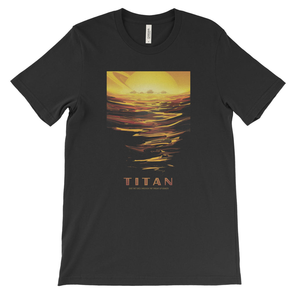 Titan T-Shirt from NASA's Visions of the Future - Mighty Circus
