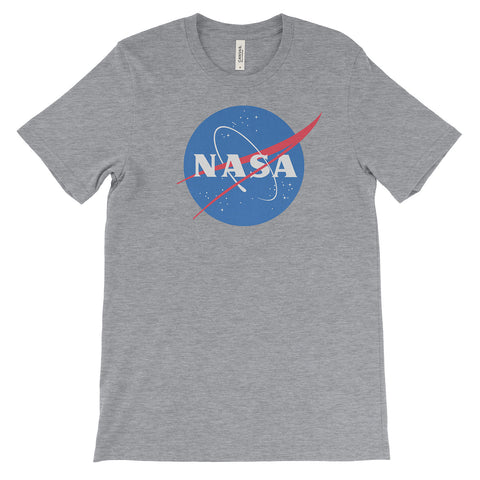 NASA T-Shirt Soft Cotton Tee. - Mighty Circus