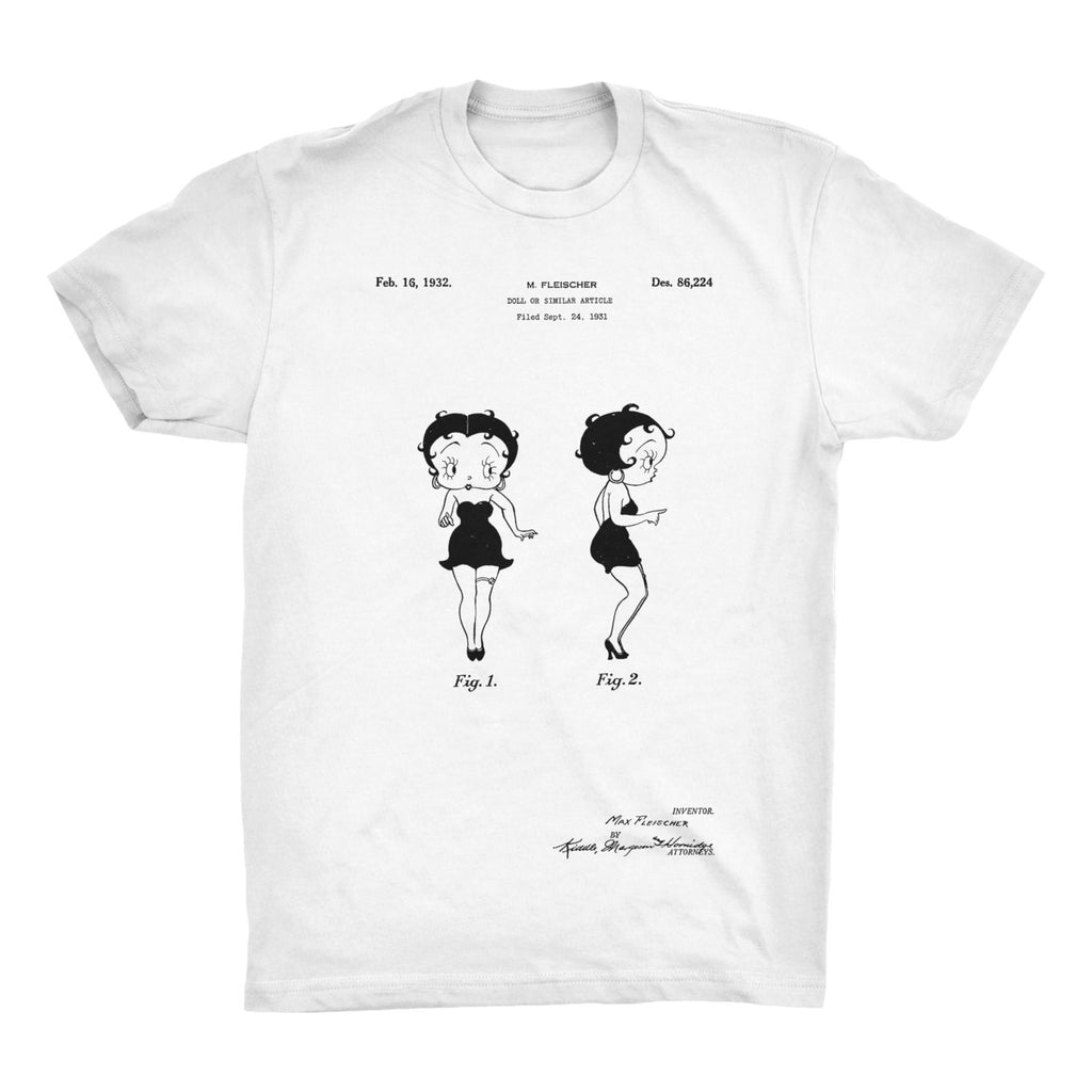 Betty Boop Patent T-Shirt - Mighty Circus