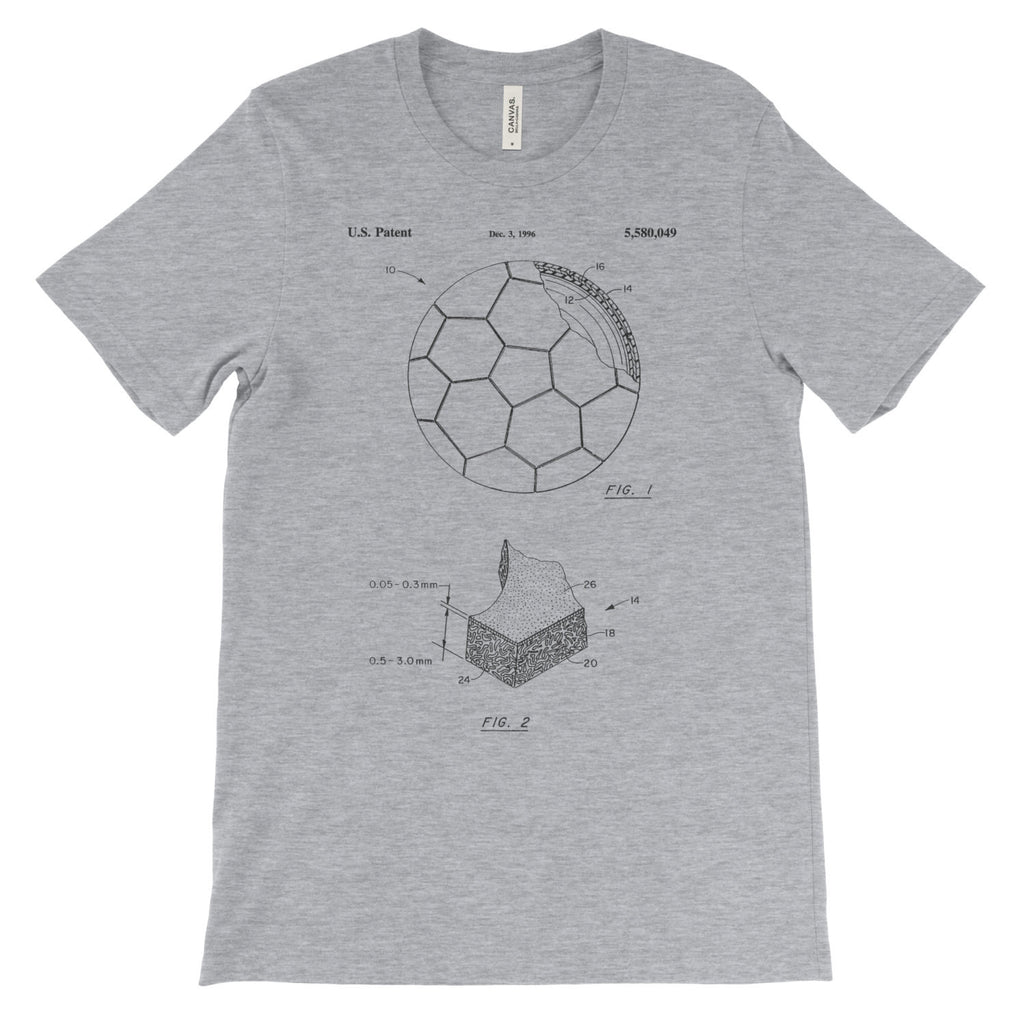 Soccer Ball Patent T-Shirt - Mighty Circus