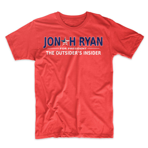 Jonah Ryan for President T-Shirt - Mighty Circus