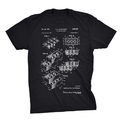 Lego Brick Patent T-Shirt - Mighty Circus
