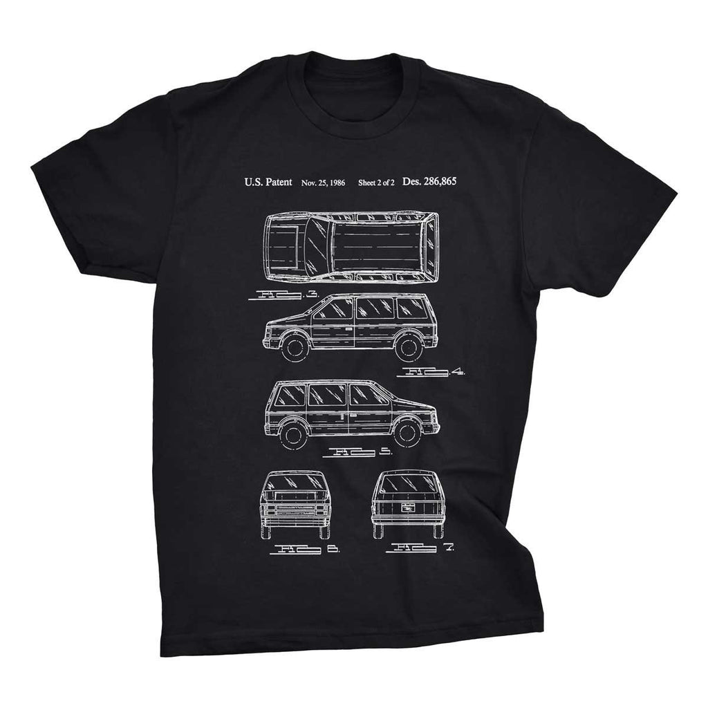 Minivan Patent T-Shirt - Mighty Circus