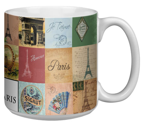 Paris 20 Ounce Jumbo Mug