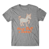 Never Bluff A Donkey T-Shirt 100% Cotton Premium Tee