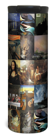 Famous Paintings - 17 Ounce Double Wall Vacuum Insulated Stainless Steel