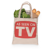 As Seen on TV Tote, Grocery Tote, Book Tote, Office Tote, 100% Cotton Fun Tote