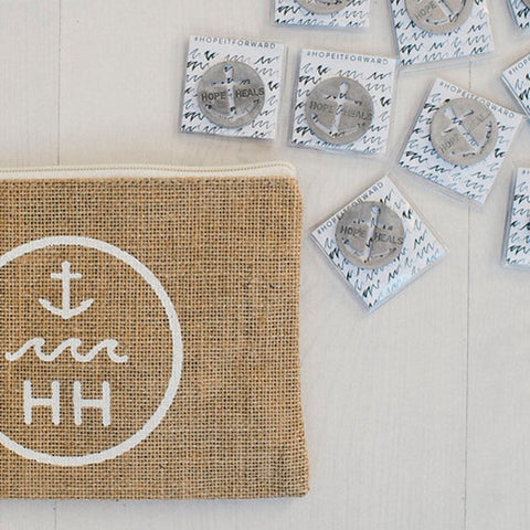 Tokens (set of 20) & Jute Pouch