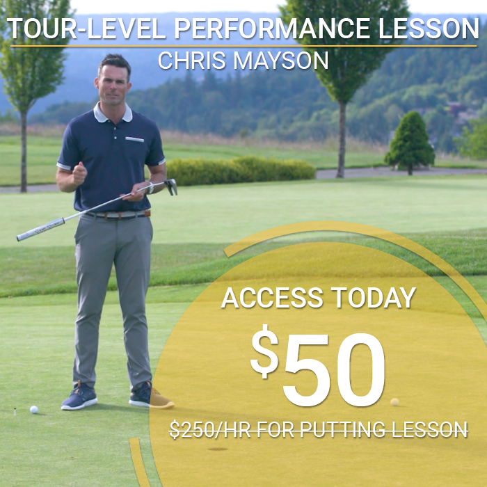 Chris Mayson's Tour-Level Performance Lesson