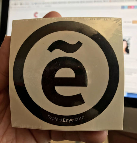 Project Eñye Logo Sticker