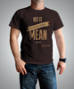 Mens Chocolate Typographic T-shirt for HGTV Timber Kings Merchandise