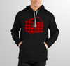 Plaid Applique Embroidered Hoodie for HGTV Timber Kings Merchandise