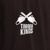 Swatch View of Left Chest Print T-shirt for HGTV Timber Kings Merchandise