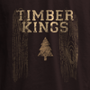 Varsity Flag Style T-shirt Graphic for HGTV Timber Kings Merchandise