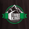 Swatch view of Retro Badge Back Graphic T-shirt for HGTV Timber Kings Merchandise