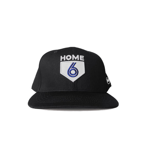 6 is Home Curved Cap (Blue)