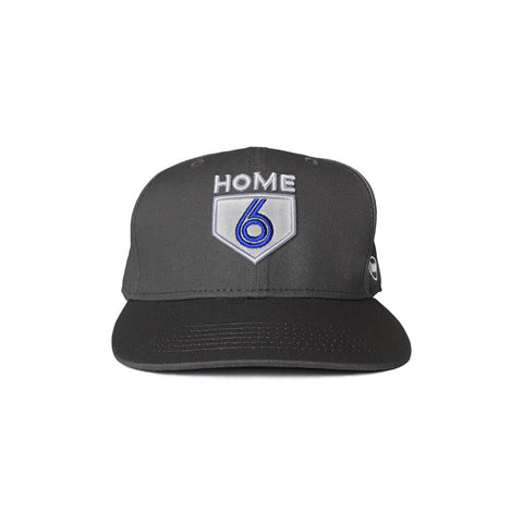 6 is Home Strapback (Black)