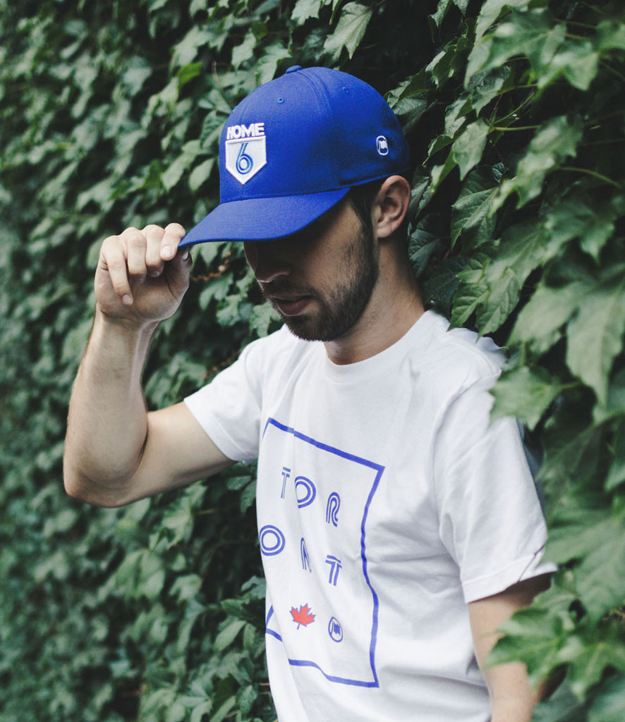 6 is Home Curved Cap (Blue) - LOYAL to a TEE