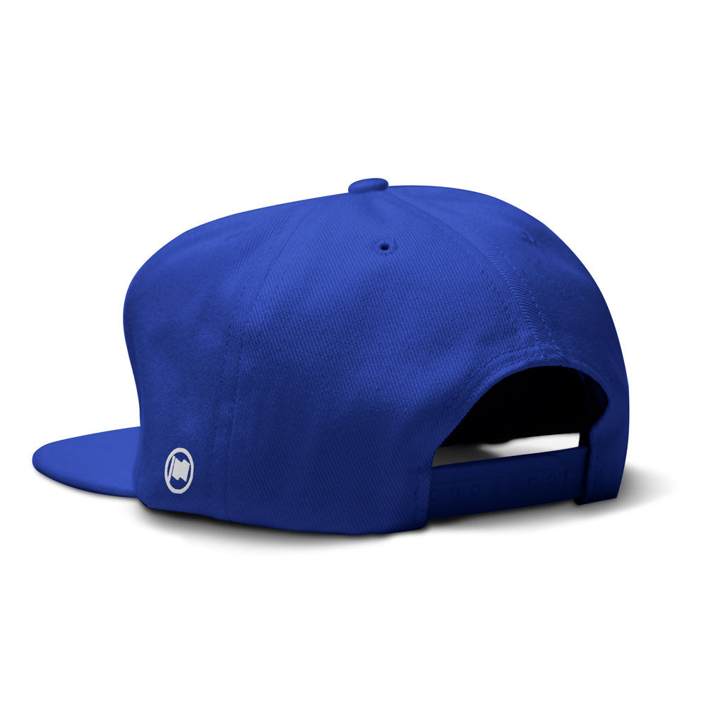 6 is Home Snapback (Blue) - LOYAL to a TEE