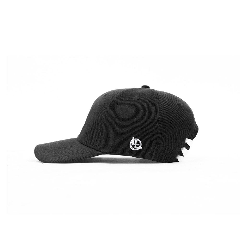 BeLeaf Laceback Hat (Black) - LOYAL to a TEE
