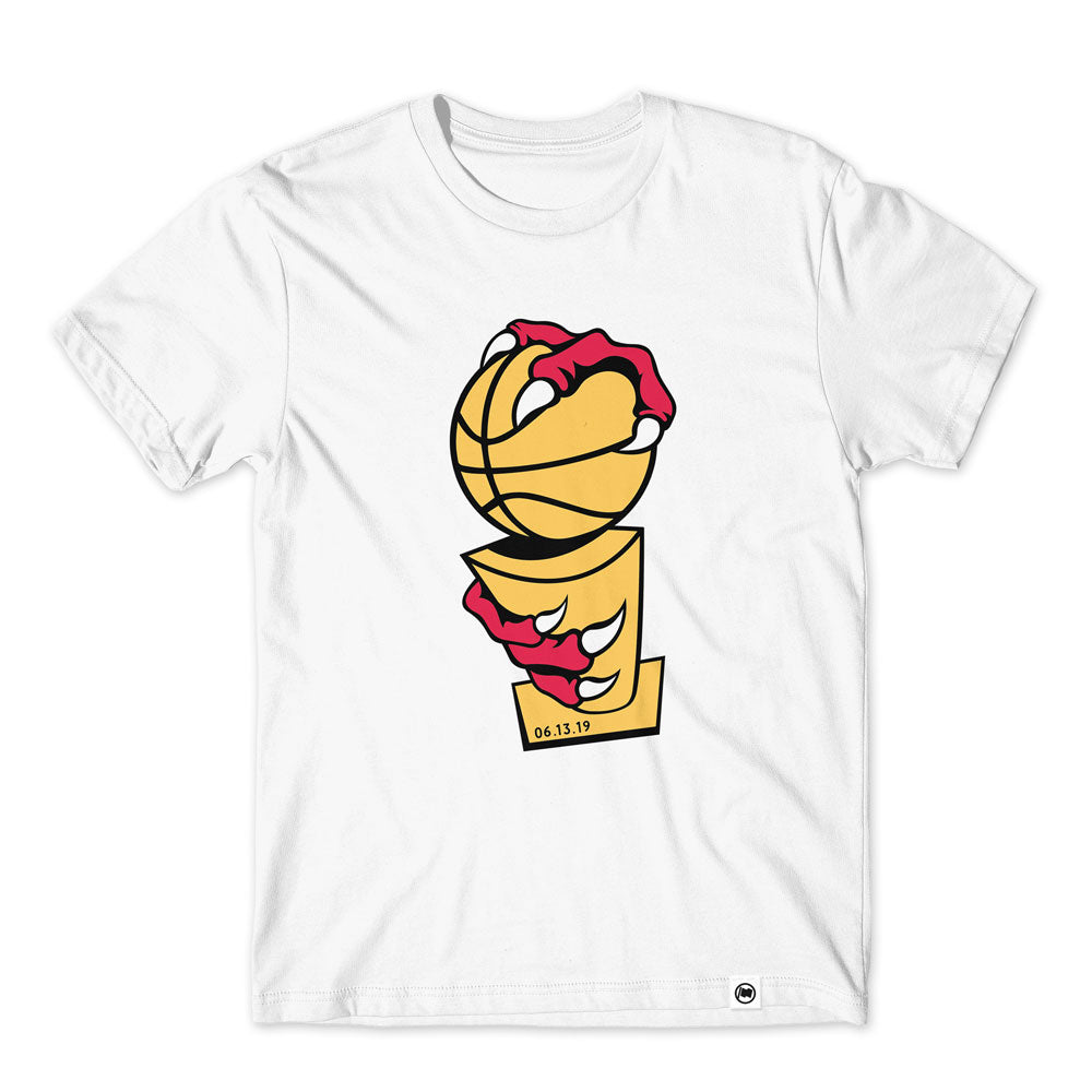 Claw Trophy Unisex Tee (White) - LOYAL to a TEE