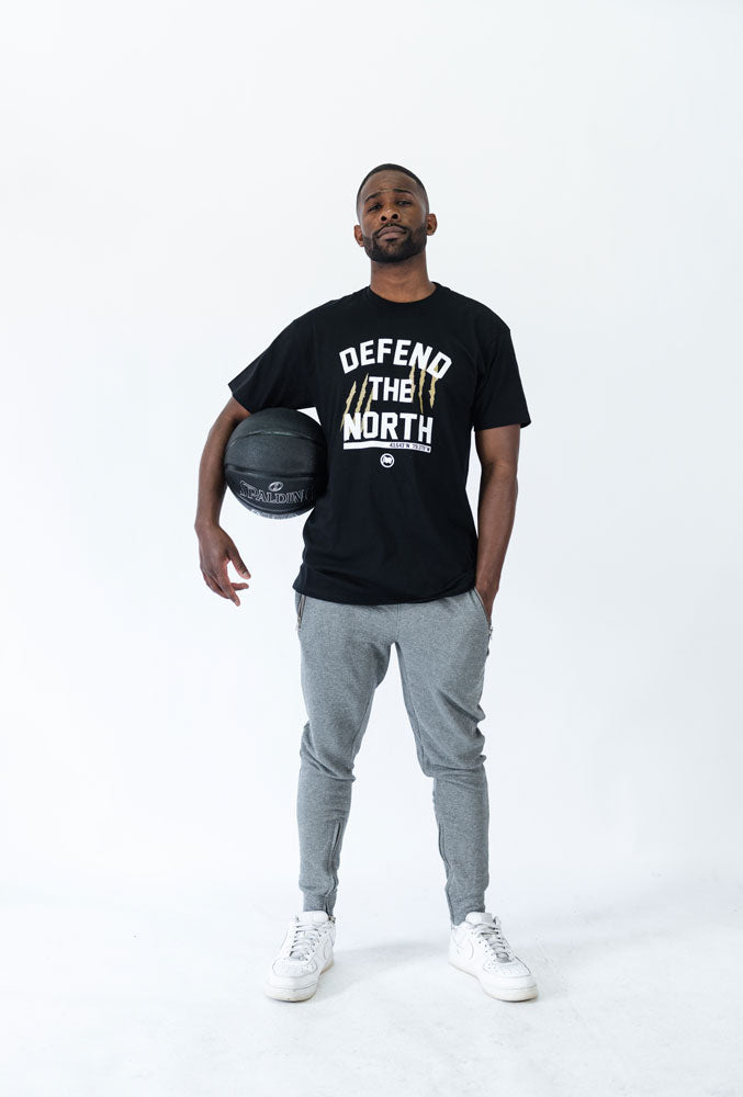 Defend The North Unisex Tee (Black) - LOYAL to a TEE