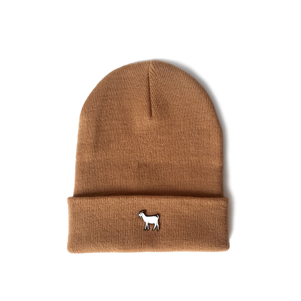 GOAT Pin Cuff Knit (Tan) - LOYAL to a TEE