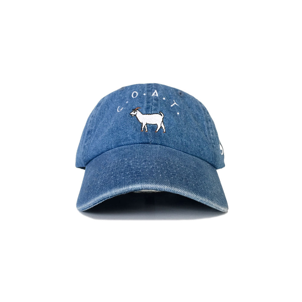 GOAT Strapback (Denim) - LOYAL to a TEE
