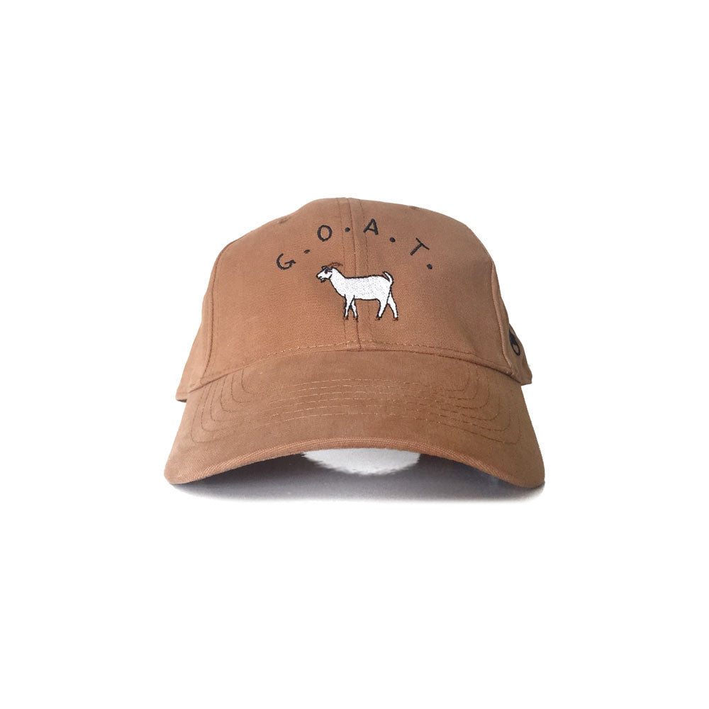 GOAT Strapback (Tan) - LOYAL to a TEE