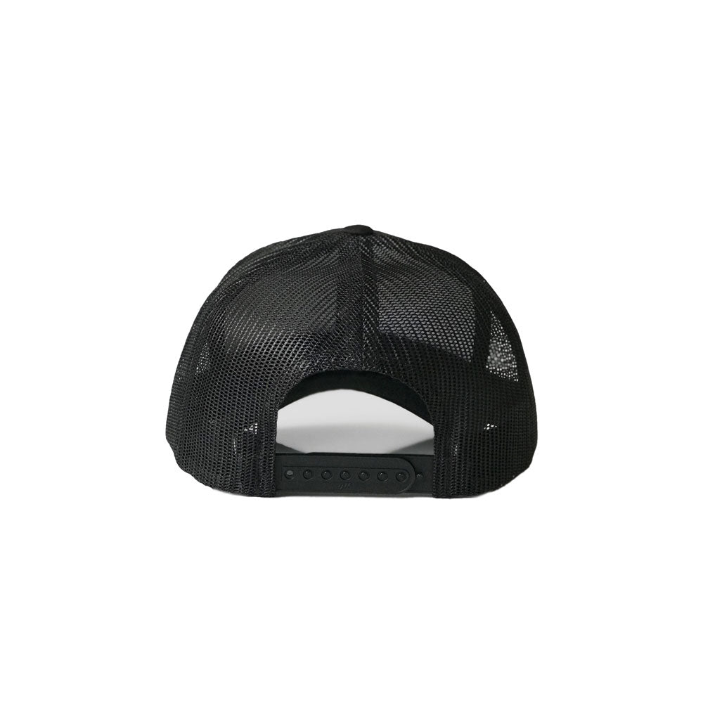 GOAT Trucker Snapback (Black) - LOYAL to a TEE