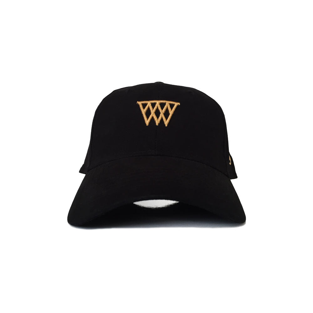 Hoops Strapback (Black)