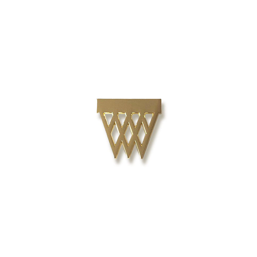 Hoops Pin (Gold) - LOYAL to a TEE