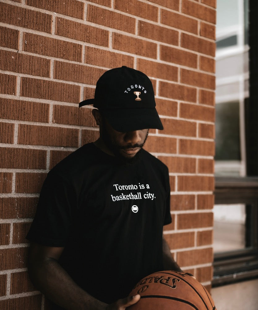 Toronto Basketball City Unisex Tee (Black) - LOYAL to a TEE