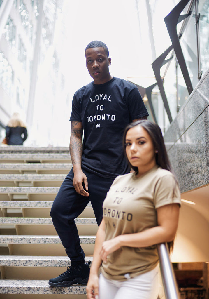 LOYAL to TORONTO Unisex Tee (Black) - LOYAL to a TEE
