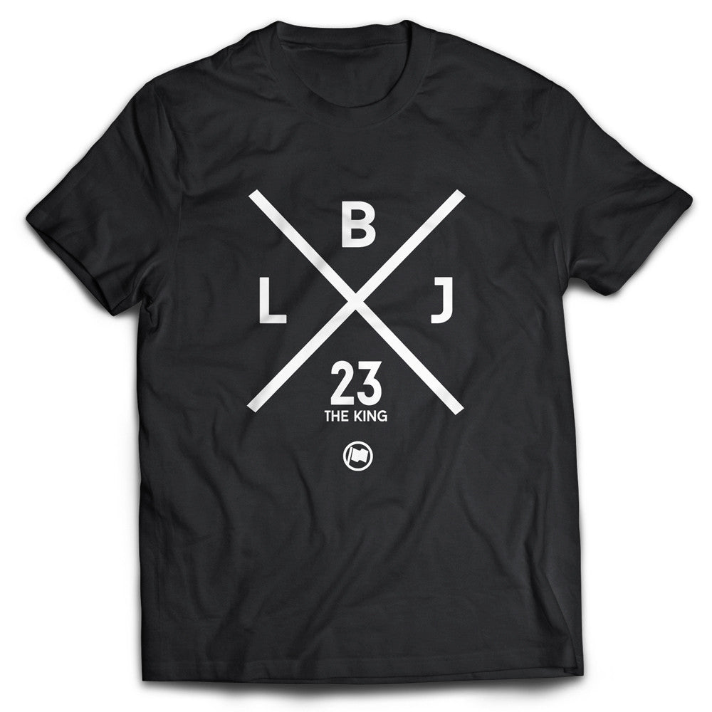LBJ Tee (Black) - LOYAL to a TEE