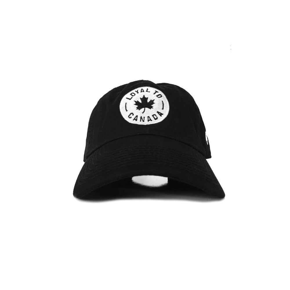 LOYAL to CANADA Strapback (Black) - LOYAL to a TEE