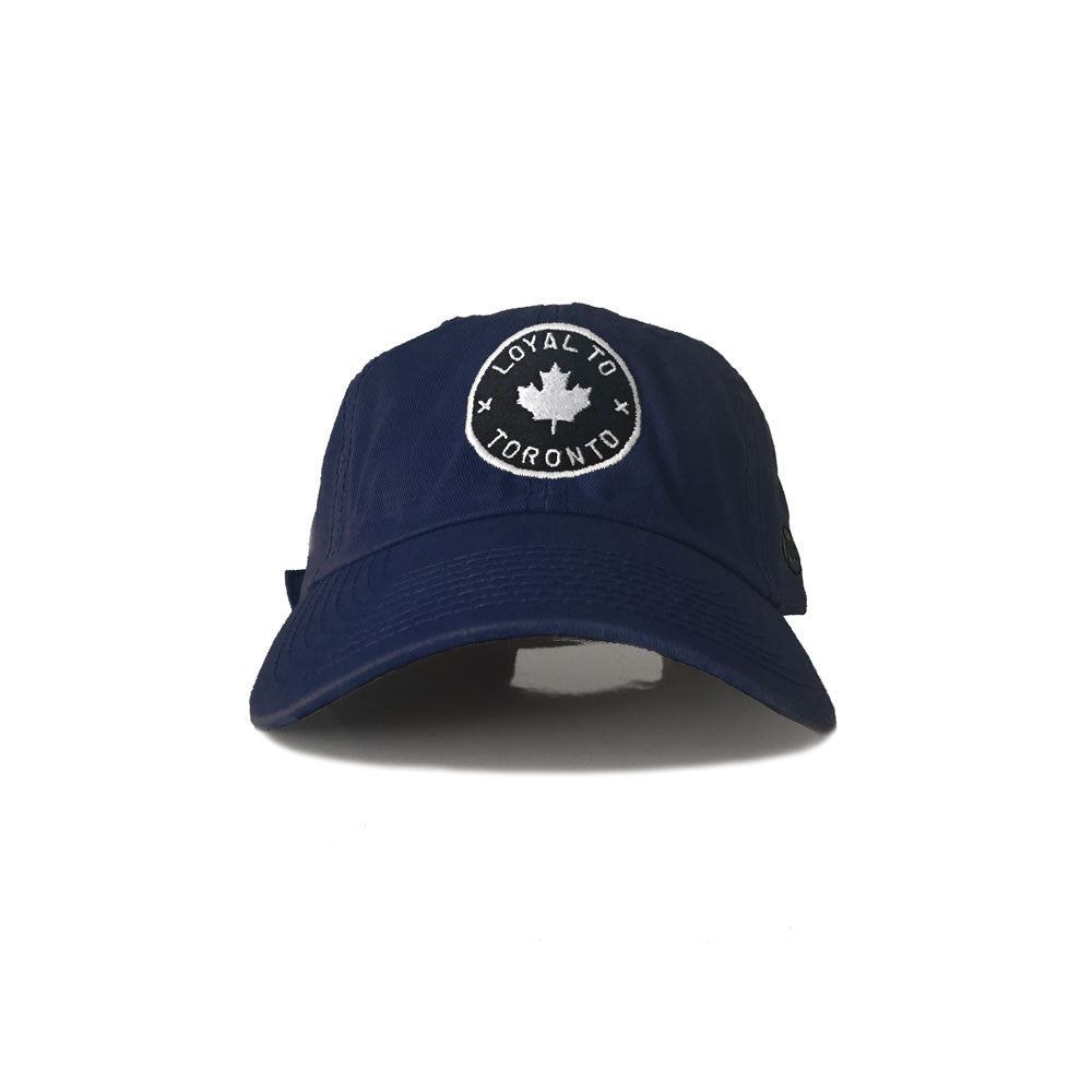 LOYAL to TORONTO Strapback (Navy)