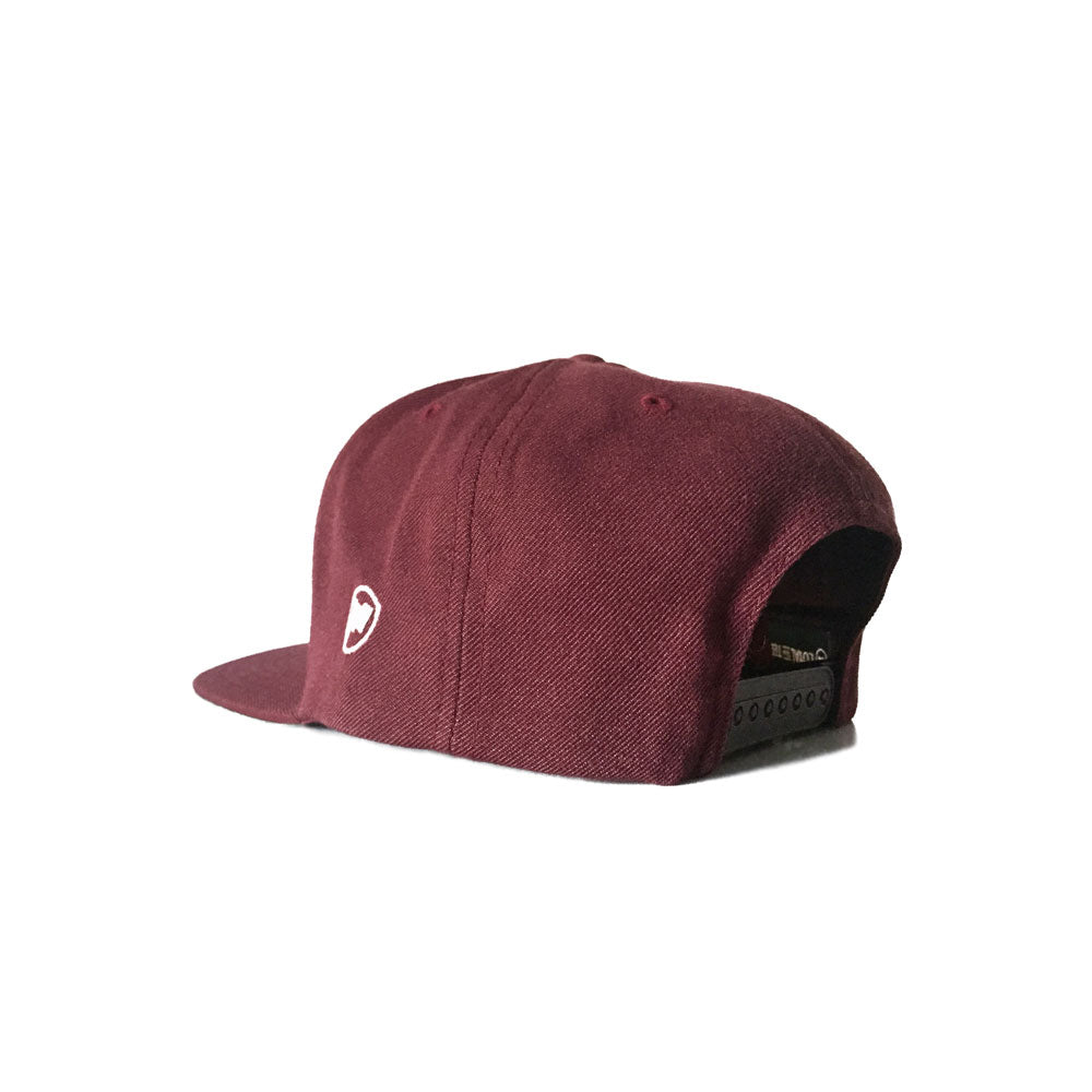 LOYAL to CANADA Snapback (Burgundy) - LOYAL to a TEE