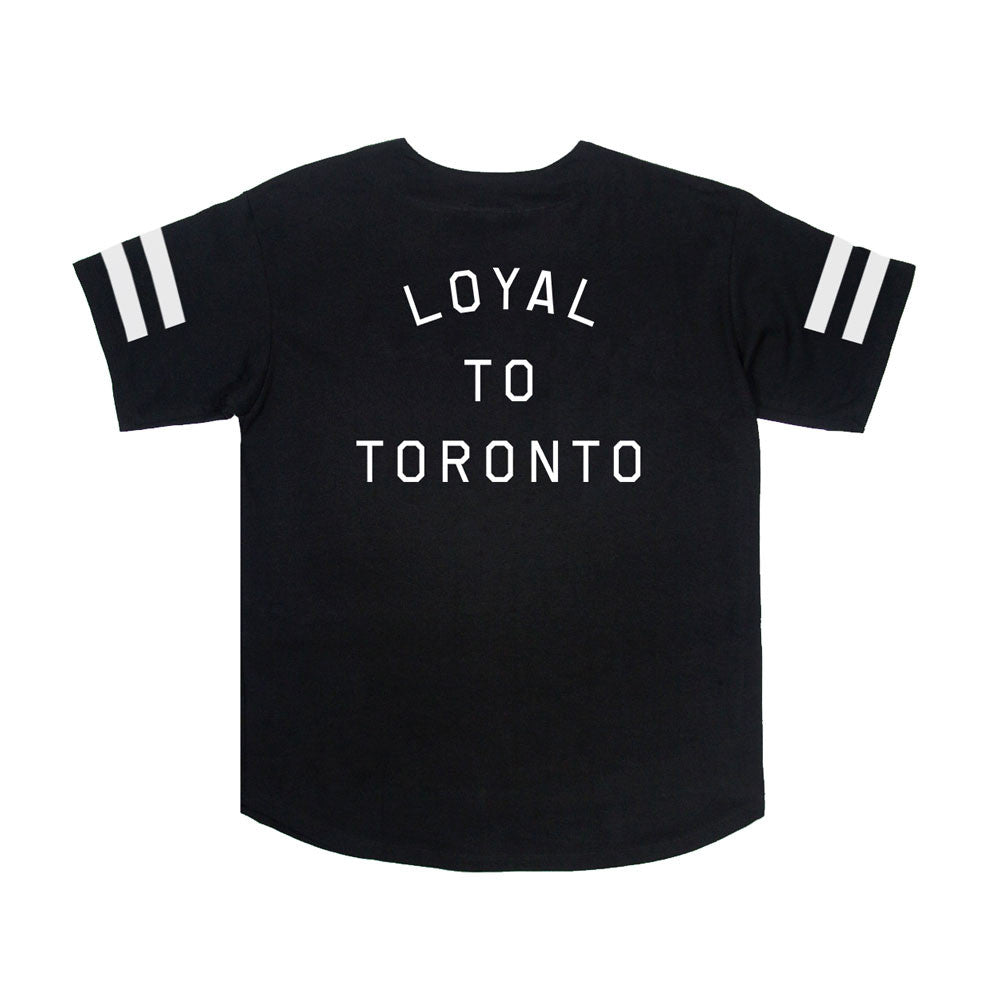 LOYAL to TORONTO Unisex Baseball Jersey (Black) - LOYAL to a TEE
