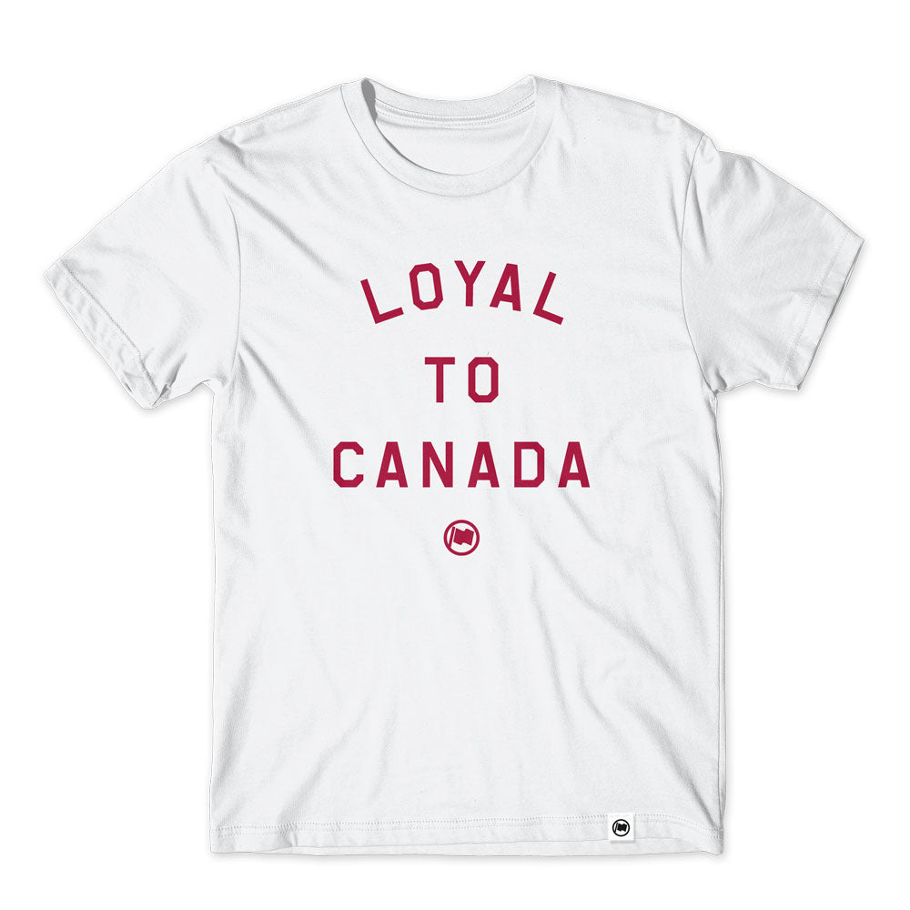 LOYAL to CANADA Unisex Tee (White) - LOYAL to a TEE