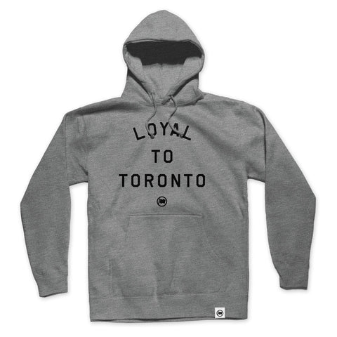 LOYAL to TORONTO Pocket Unisex Hoodie (Black)
