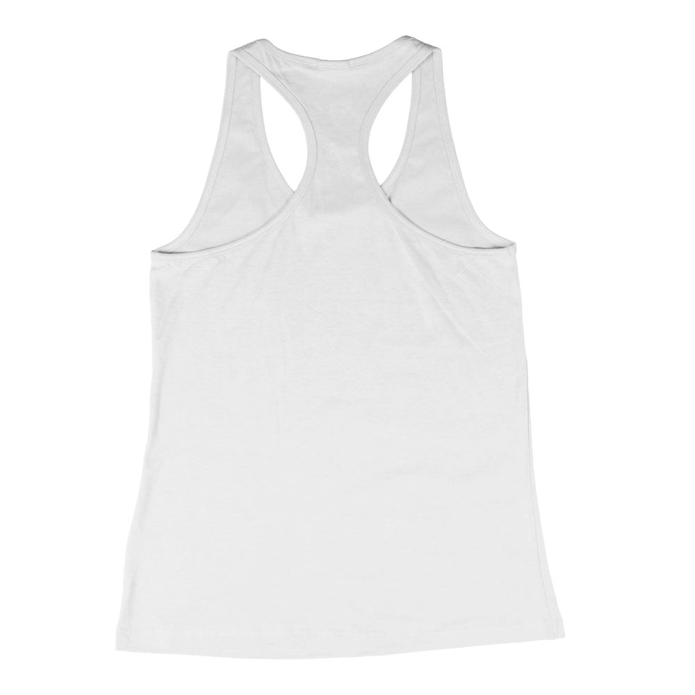 LOYAL to TORONTO Women's Racerback Tank (White Triblend) - LOYAL to a TEE