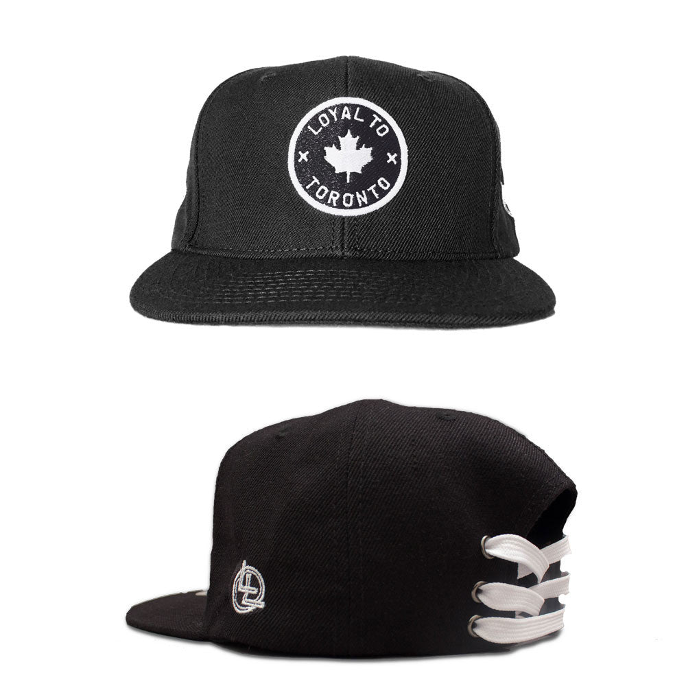 LOYAL to TORONTO Laceback (Black) - LOYAL to a TEE